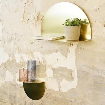 Lampe à huile en verre