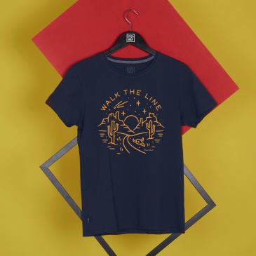 T-shirt Walk The Line