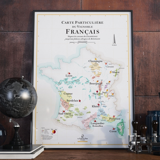 Affiches Carte des Vins