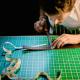 Ceinture en cuir by Ted Bennet, artisan maroquinier