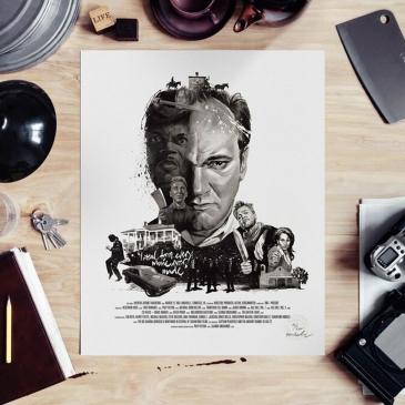 Affiche Quentin Tarantino