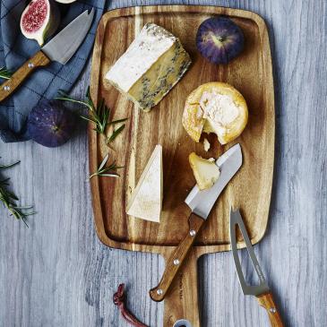 Plateau à fromages & couteaux