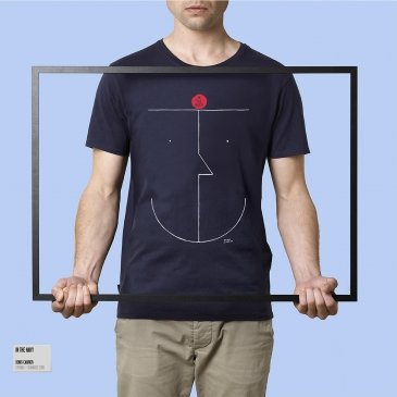 T-Shirt In The Navy