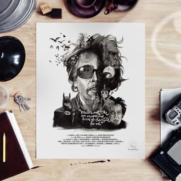 Affiche Tim Burton