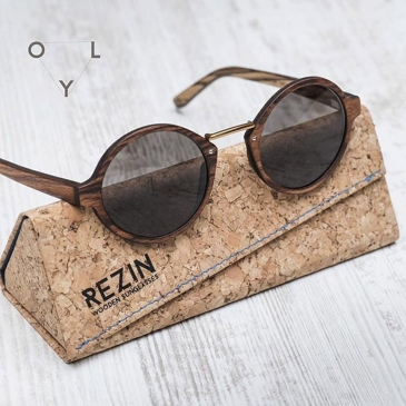 Oly - Wooden Sunglasses