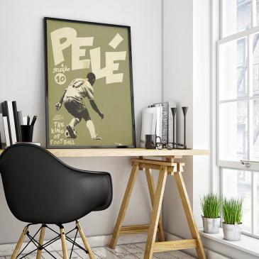 Affiche d'art Pelé