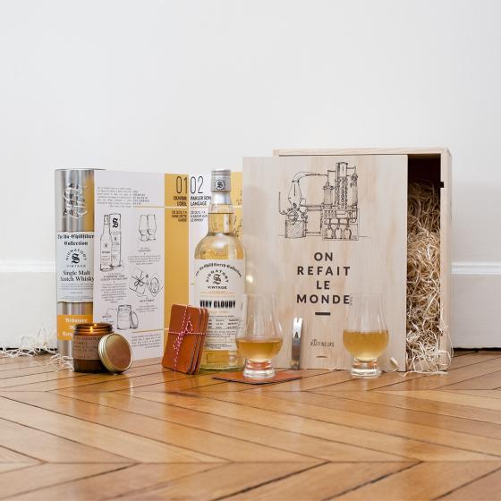 La caisse Raffineurs | Dégustation de whisky
