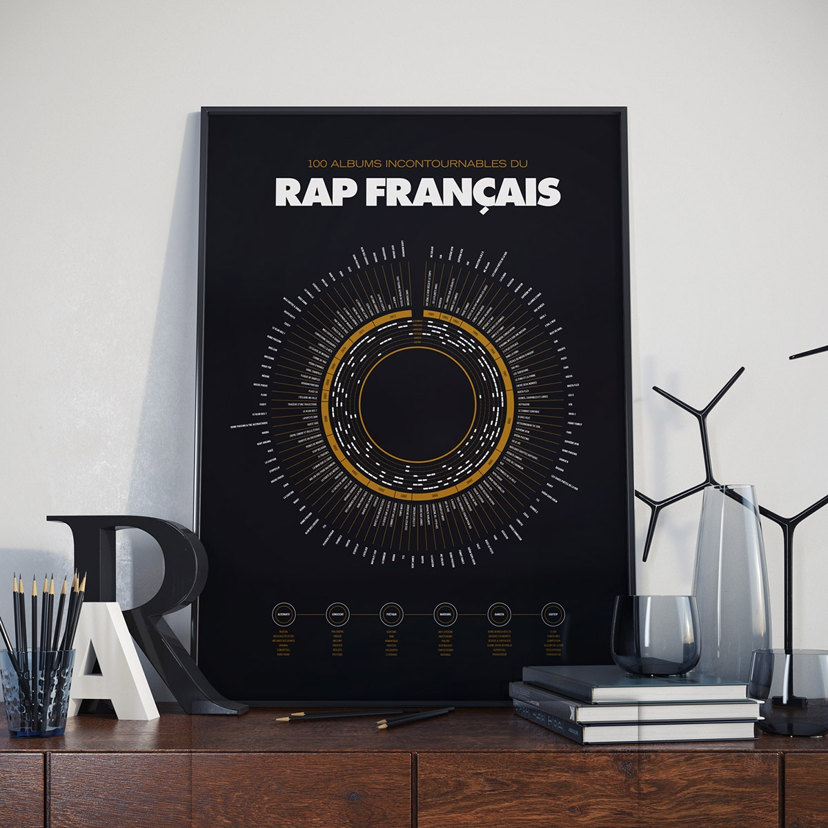 affiche rap fran ais les raffineurs. Black Bedroom Furniture Sets. Home Design Ideas