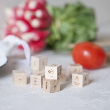 Set de dés culinaires
