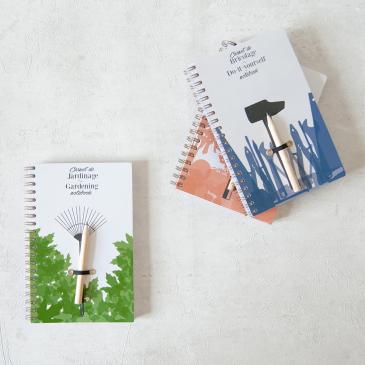 Carnet de notes pour les manuels