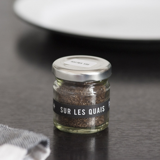 Coffret de sels du monde