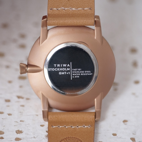 Montre Rose Falken Tan