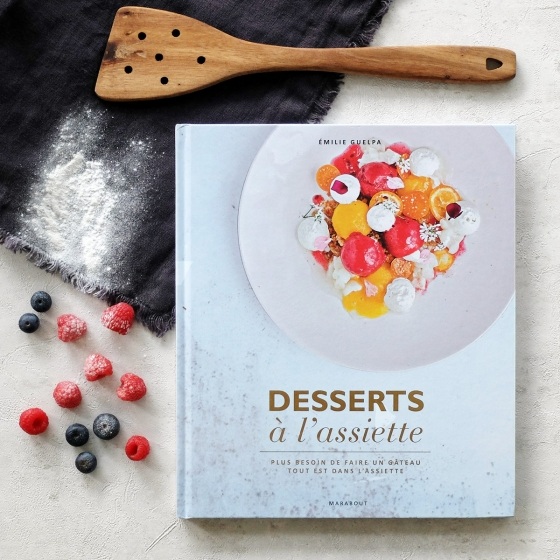 Livre Desserts à l'assiette