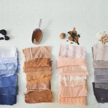 Créer son foulard avec des teintures végétales