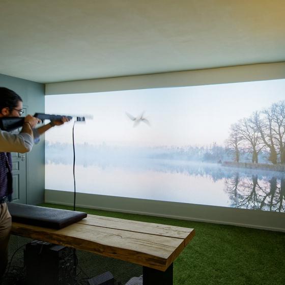 Simulateur de chasse à Paris