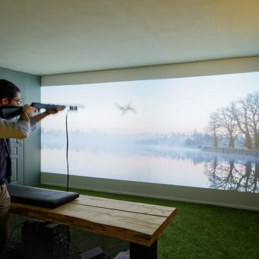 Simulateur de chasse
