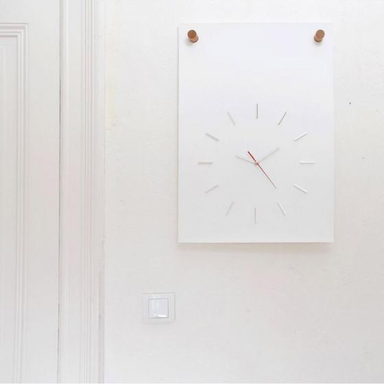 Horloge poster