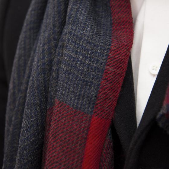 Echarpe en gaze de laine