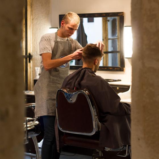 Un rendez-vous chez le barbier
