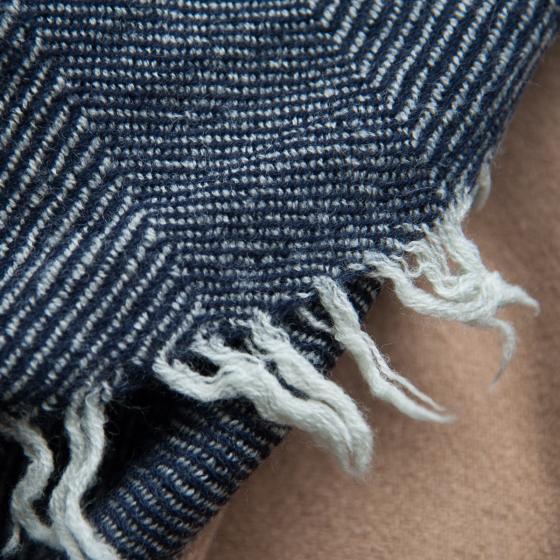 Chèche en laine Monsieur Charli