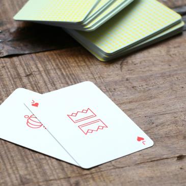 Coffret de deux jeux de cartes