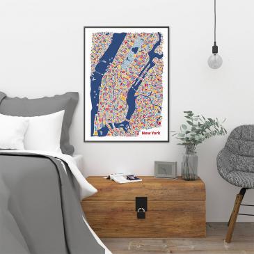 Affiches grandes villes