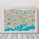 Affiches villes vues d'en haut
