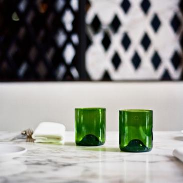 Coffret de verres de table