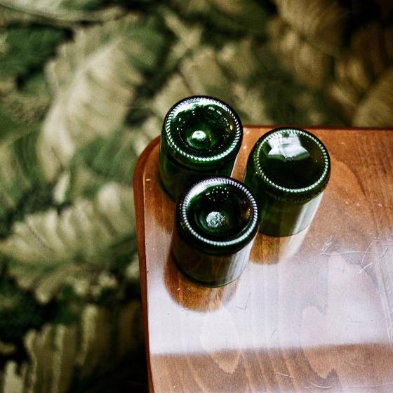 Coffret de verres Q de bouteilles