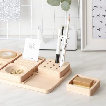 Vide-poche en bois - Tofu