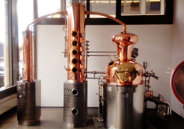 La premi re micro distillerie de paris - Distillerie a vendre ...