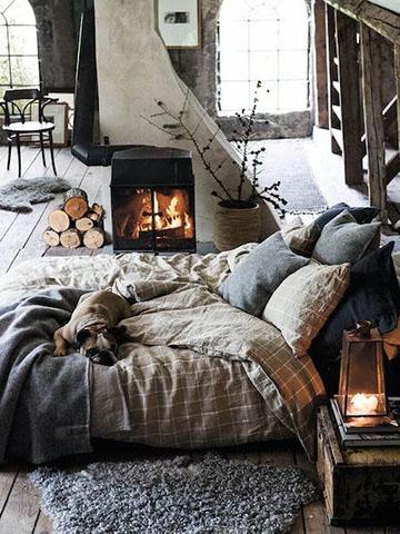 Passer l'hiver au chaud